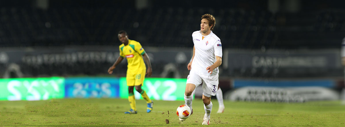 Marcos A playimng for Fiorentina